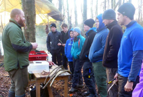 Bushcraft group talk